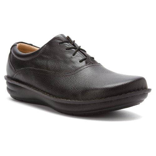 Alegria Schuster Black Tumble Leather