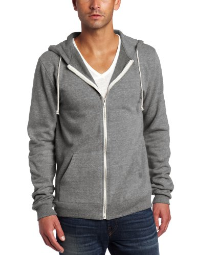 Threads 4 Thought Men's Triblend Zip Front