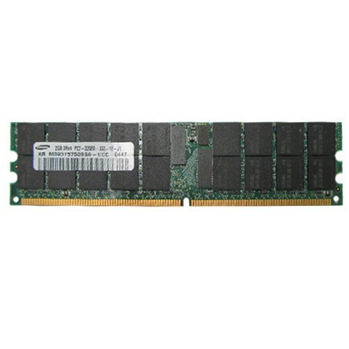 Pc2 3200 Ecc Registered Ram - Samsung M393T5750BS0-CCC 2GB DDR2 400MHz PC2-3200 ECC Registered Server RAM
