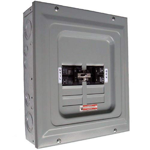 Generac 6333 60-Amp Single Load Double Pole Manual Transfer Switch for Portable Generators ()