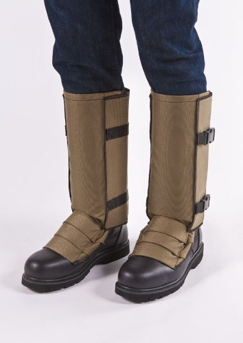 Snake Gaiters Protection Khaki Large