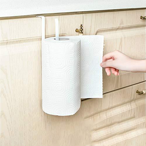 Go Cart Go 2019 New Iron Kitchen Tissue Holder Hanging Bathroom Toilet Roll Paper Holder Towel Rack Kitchen Cabinet Door Hook Holder by Go Cart Go (Image #5)