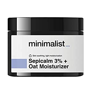 Minimalist Sepicalm 3% Oats Face Moisturizer for Oily, Acne Prone Skin, 50 ml | Overnight Repair Night Cream for Women…