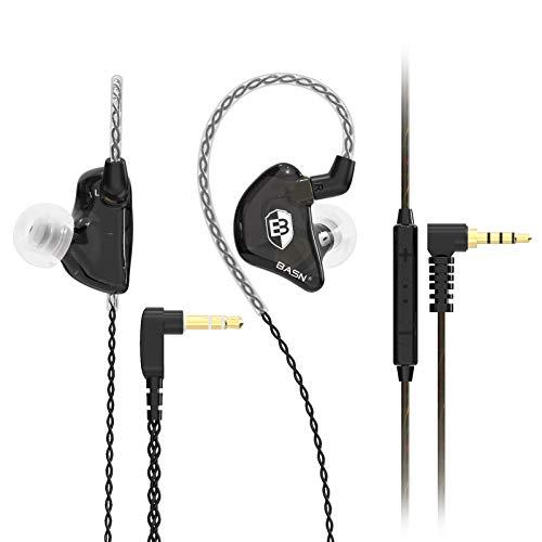 Auriculares Earbuds Inalambricos BASN Black