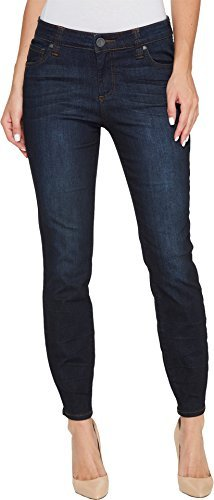 KUT from the Kloth Women's Connie Ankle Skinny Zipp at Back in Margaric Margaric/Euro Base Wash 10 27.5 by KUT from the Kloth