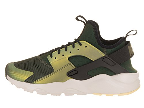 Nike Air Huarache Werking Ultra Se Mens 875841-302 Sequoia / Blacklight Been Bleke Citroen