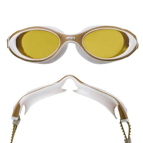 (blueseventy Hydra Vision Goggles - for Triathlon, Pool and Open Water Swimming (Yellow White, Yellow))