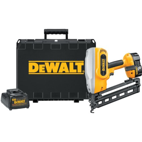 Dewalt 18v Finish Nailer (DEWALT DC618K XRP 18-Volt Cordless 1-1/4 Inch - 2-1/2 Inch 16 Gauge 20 Degree Angled Finish Nailer Kit)