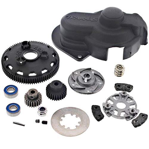 Slipper Clutch Parts Set - Traxxas 1/10 Slash 2WD VXL 86T SPUR GEAR, SLIPPER CLUTCH, TWO PINIONS & COVER