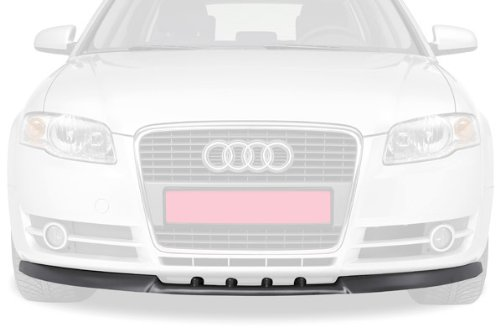 CSR-Automotive Cupspoilerlippe Spoilerschwert mit ABE Schwarz glä nzend Glossy CSL009-G
