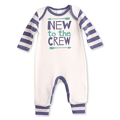 Tesa Babe New to The Crew Baby Boy Romper by (0-3 ()