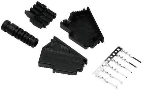Hama Tae F Stecker Zur Eigenkonfektionierung Schwarz Elektronik