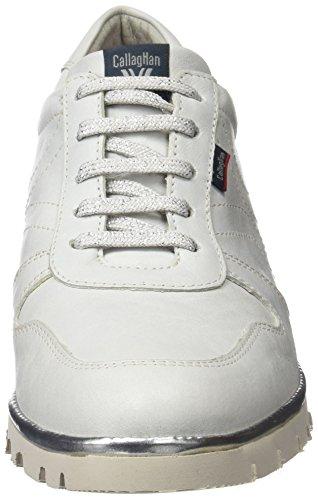 Oxford Para Cordones Mujer white Zapatos Callaghan Blanco De 10309 qw1Sx7Z