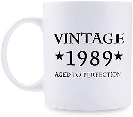 Taza de café de 30 cumpleaños para hombre - 1989 regalos de ...
