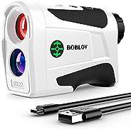 BOBLOV 1000Yards Slope Golf Rangefinder,Professional 400Yards Flag Locking Golf Distance Finder, Slope On/Off