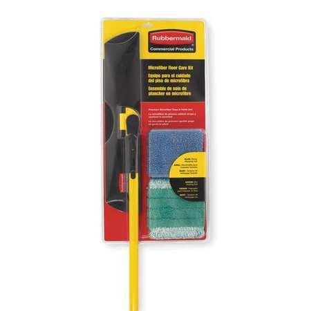 Wet/Dry Floor Kit, Microfiber, 55''L by Rubbermaid