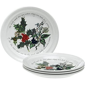 Portmeirion Holly and Ivy Salad Plates Set of 6  sc 1 st  Amazon.com & Amazon.com   Portmeirion Holly and Ivy Salad Plates Set of 6 ...