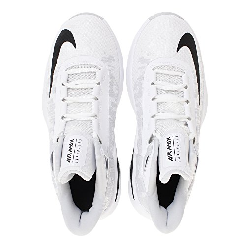 001 white Ii Gs Infuriate Platinum Nike Max pure Basses Multicolore Air Sneakers Homme black qORxfA6w