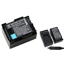 Everydaysource Decoded Battery + Charger Compatible With CANON BP-808 FS10 FS11 FS100 BP-819 BP-809