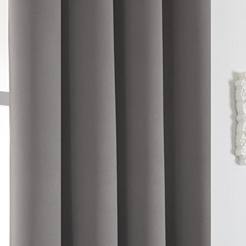 Review Solid Blackout Curtains for