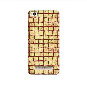 Cover It Up - Gold Red Break Mosaic Redmi 4A Hard Case
