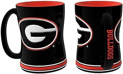 Georgia Bulldogs 16 oz Granite Mug