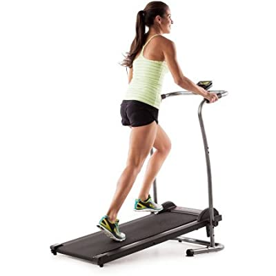 Weslo CardioStride 4.0 Manual Treadmill, 2-Position Adjustable Incline, LCD Window Display