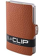I-CLIP ® Geldbörse Rindsleder (In 5 Variationen Erhältlich) (Nuss)