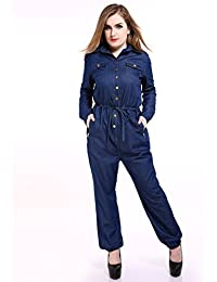 Amazon.com: Plus Size - Jumpsuits, Rompers & Overalls / Clothing ...