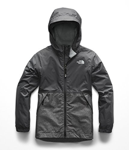 The North Face Boys Warm Storm Jacket - Graphite Grey - XS