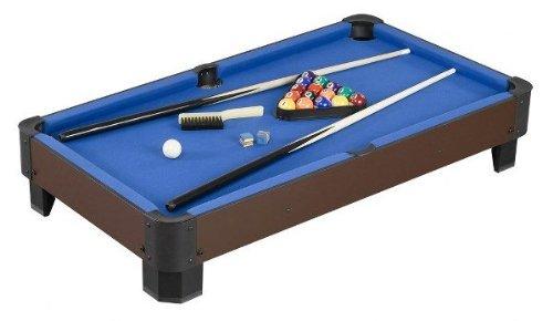 Bulk Buys Ob444 Tabletop Pool Table Brown Green