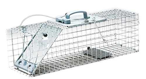 - Havahart 1084 Easy Set One-Door Cage Trap for Rabbits, Skunks, Minks and Large Squirrels