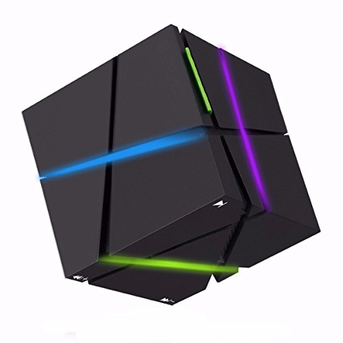 Bluetooth Speaker, ELEGIANT Led Wireless Cube P...