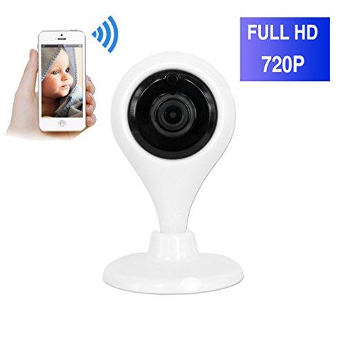 ShengyaoHul 720P HD Indoor Monitor Video Per Bambini, 1 Mp Sistema Di Telecamere Di Sicurezza Casa Ip / Allarme Video / Visione Notturna A Infrarossi / Allarme Video Telecamera Di Sorveglianza Ip