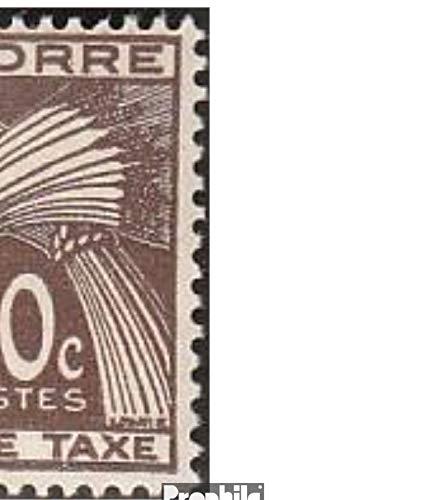 Prophila Collection Andorra - Französische Post P32-P41 (kompl.Ausg.) 1946 Portomarken (Briefmarken für Sammler)