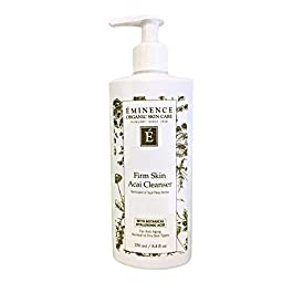 Eminence Organic Skincare Firm Skin Acai Cleanser with Hyaluronic Acid, 8.4 Ounce