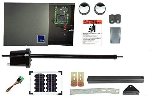 Apollo 1650 Dual Gate Opener DIY Kit with Solar Panel (Solar, 10 Watt)