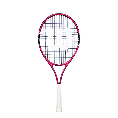 (Wilson Junior Burn 23 Tennis Racquet, Pink)