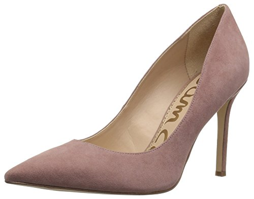 Sam Edelman Women's Hazel Pump, Dusty Rose Suede, 7.5 Medium US