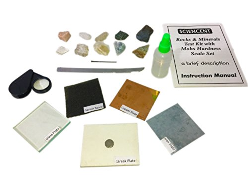 Apatite Mineral - Sciencent Rocks and Minerals Testing Kit