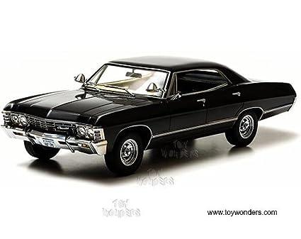 Amazoncom Greenlight Artisan Supernatural TV Show Chevy Impala - Supernatural show car