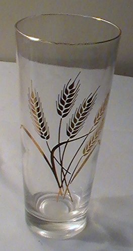 Vintage Homer Laughlin - Vintage Homer Laughlin Golden Wheat Ice Tea Glasses - Set of 4