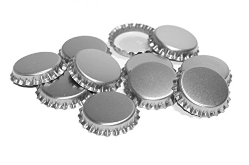New-Beer-Bottle-Caps-Oxygen-Absorbing-Seal-Silver-Crown-Caps-for-Home-Brew-or-Crafts-144-Pieces