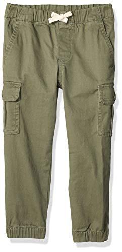 Amazon Essentials Big Boys' Cargo Pants, Olive, Medium