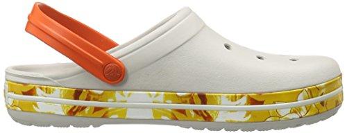 Crocs Crocband Tropical II, Unisex Adults' Clogs White (Pearl White)