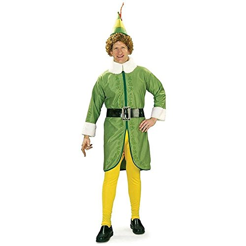 Buddy the Elf Adult Costume - (Buddy The Elf Costume)