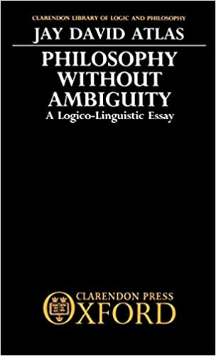 Business Law Essay Questions Amazoncom Philosophy Without Ambiguity A Logicolinguistic Essay  Clarendon Library Of Logic And Philosophy  Jay David  Atlas Books Essay On English Subject also Science Fiction Essay Amazoncom Philosophy Without Ambiguity A Logicolinguistic Essay  Top English Essays