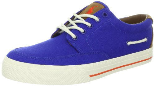 Polo Ralph Lauren Mens Vance Side Lace Fashion Sneaker Royal/Blue Kk67ETQCU