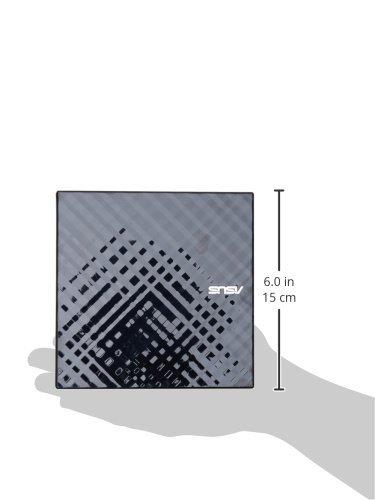 ASUS SDRW-08D2S-U LITE External Slim 8X DVD-RW Mac Compatible Optical Drive (SDRW-08D2S-U-BLK-AS)