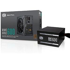 Cooler Master MWE 600 Watt 80 Plus Bronze certified power supply